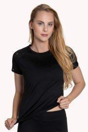 Дамскa спортна блуза с къс ръкав  за фитнес и спорт Lisca Cheek Powerful AW 2020 Лиска Lisca Cheek от www.liscashop.bg