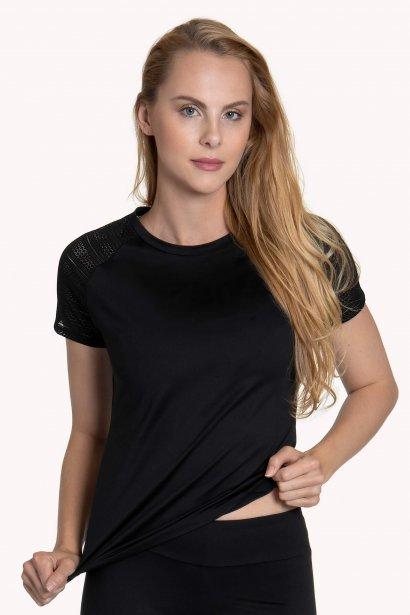 Дамскa спортна блуза с къс ръкав  за фитнес и спорт Lisca Cheek Powerful AW 2020