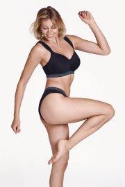 Спортен сутиен за фитнес и тренировка без банели чашка F Lisca Cheek Powerful AW 2020 Лиска Lisca Cheek от www.liscashop.bg