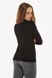 Поло с дълги ръкави в черно или сиво Lisca Cheek Cosy AW2021 Лиска Lisca Cheek от www.liscashop.bg