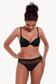 Секси бикини бразилиани/ прашки в черно и розово Lisca Cheek Fantastic AW2021 Лиска Lisca Cheek от www.liscashop.bg