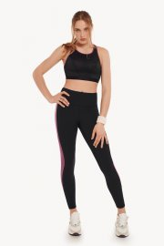 Дамски спортен клин с висока талия за фитнес и спорт в черно Lisca Cheek Playful AW 2021 Лиска Lisca Cheek от www.liscashop.bg