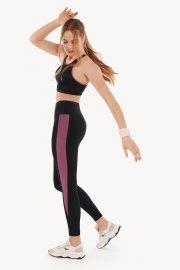 Спортен топ без банели за фитнес или тренировка в черно Lisca Cheek Playful AW 2021 Лиска Lisca Cheek от www.liscashop.bg
