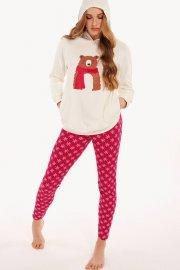 Памучна пижама с дълги ръкави и дълъг клин Lisca Cheek Wonderland AW2021 Лиска Lisca Cheek от www.liscashop.bg