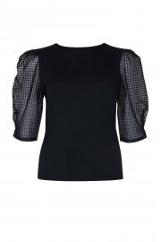 Блуза с ширики 3/4 ръкави с кръгло деколте Lisca Cheek Limitless SS2021 Лиска Lisca Cheek от www.liscashop.bg