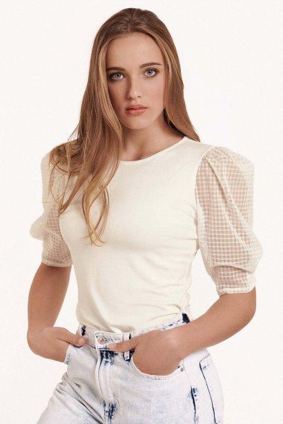 Блуза с ширики 3/4 ръкави с кръгло деколте Lisca Cheek Limitless SS2021