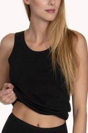 Памучен корсаж потник с широки презрамки Aura от Lisca Лиска Natural от www.liscashop.bg