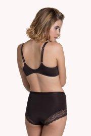 Елегантни дълбоки бикини Lisca Evelyn AW2020, кафяви Лиска Fashion от www.liscashop.bg