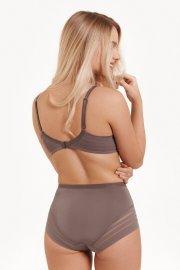 Модни бикини с висока талия Lisca Alegra AW2021 цвят Кафяво Лиска Fashion от www.liscashop.bg