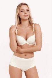 Модерен сутиен Push-Up с подвижни презрамки и банели Lisca Fashion Gracia SS2021 P1 - Слонова кост Лиска Fashion от www.liscashop.bg