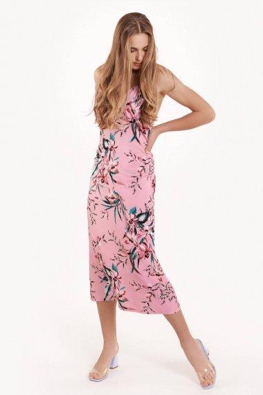 Елегантна нощница с тънки презрамки на цветя Lisca Fashion Harper SS2021