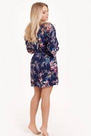 Луксозен сатенен халат с дълги ръкави Lisca Fashion Harper SS2021 Лиска Fashion от www.liscashop.bg