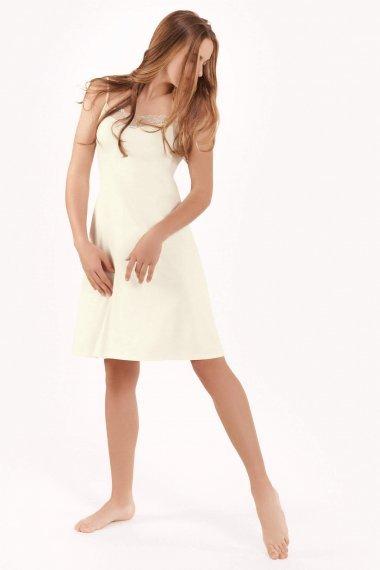 Къса дамска нощница с тънки презрамки Lisca Fashion Harvest SS2021