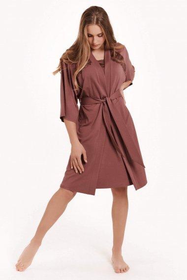 Романтичен халат с 3/4 ръкави Lisca Fashion Harvest SS2021