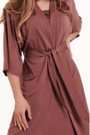 Романтичен халат с 3/4 ръкави Lisca Fashion Harvest SS2021 Лиска Fashion от www.liscashop.bg