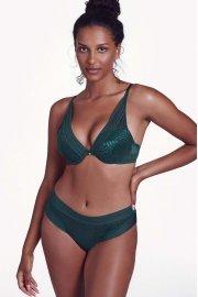 Съблазнителни бикини бразилиани в бяло или зелено Lisca Fashion Helen SS2021 Лиска Fashion от www.liscashop.bg