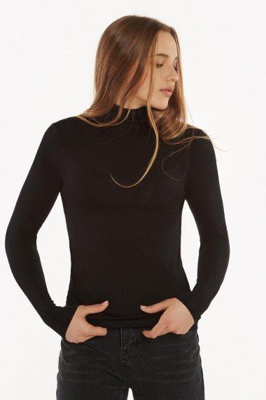 Дамско черно поло с дълги ръкави Lisca Isa AW2021