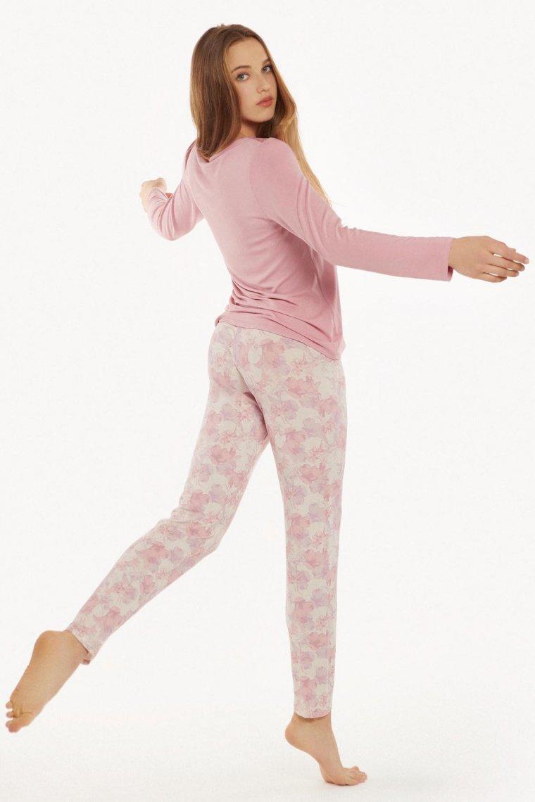 Дамски клин в розово или в бяло на розови цветя Lisca Isabelle AW2021 Лиска Fashion от www.liscashop.bg