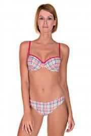 Плажни бански бикини Cheek by Lisca Retro Vichy 2019 Лиска Lisca Cheek SW от www.liscashop.bg