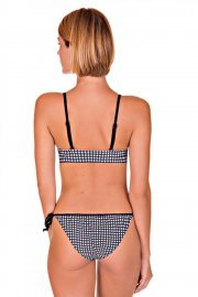 Плажни бански бикини с връзки Cheek by Lisca Retro Vichy 2019 Лиска Lisca Cheek SW от www.liscashop.bg