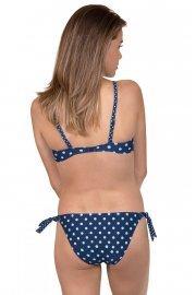 Бански бикини с връзки на точки в синьо или розово Lisca Cheek Linosa 2020 Лиска Lisca Cheek SW от www.liscashop.bg
