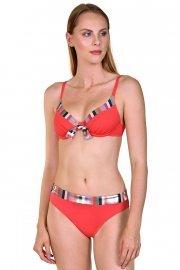 Бляскави бански дълбоки бикини на райета Lisca Cheek Malia 2020 Лиска Lisca Cheek SW от www.liscashop.bg
