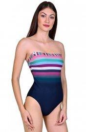 Цял бански костюм с меки чашки и тънки сменяеми презрамки без банели Lisca Cheek Malia 2020 Лиска Lisca Cheek SW от www.liscashop.bg