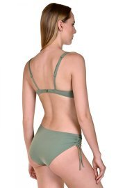 Коригиращи бански бикини с връзки отстрани в зелено или черно Lisca Fashion Ancona 2021 Лиска Fashion SW от www.liscashop.bg
