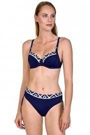 Бански костюм с меки чашки и банели в син цвят Lisca Costa Rica 2020 Лиска Fashion SW от www.liscashop.bg