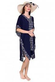 Модерен кафтан в син цвят Lisca Costa Rica 2020 Лиска Fashion SW от www.liscashop.bg
