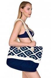 Практична платнена плажна чанта Lisca Costa Rica 2020 Лиска Fashion SW от www.liscashop.bg