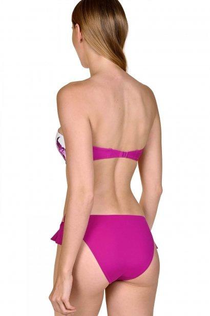 Модни бански бикини с панделки на бедрата в синьо или розово Lisca Egina 2020