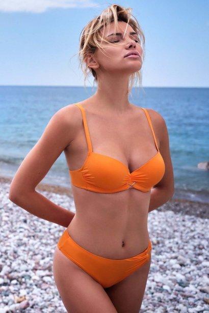 Бански бикини за плуване, синьо, зелено и оранжево, Бързосъхнещ с UV защита Lisca Gran Canaria 2020