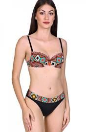 Женствен бански бикини с етно мотиви Lisca Fashion Haiti 2020 Лиска Fashion SW от www.liscashop.bg