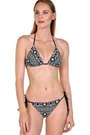 Младежки двулицеви бански бикини с етно мотиви или черни Lisca Fashion Haiti 2020 Лиска Fashion SW от www.liscashop.bg