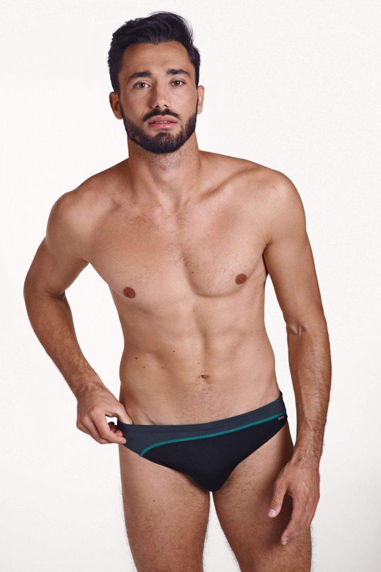 Мъжки бански костюми слипове на класическа кройка за плуване Lisca ARNE 2020 Лиска Men SW от www.liscashop.bg