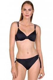 Луксозни бански бикини с връзки в два цвята тъмносин и черен Lisca Selection Navarre Beach 2020 Лиска Selection SW от www.liscashop.bg