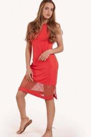 Плажна рокля без ръкави в черно и бяло Lisca Cheek Ibiza 2021 Лиска Lisca Cheek SW от www.liscashop.bg
