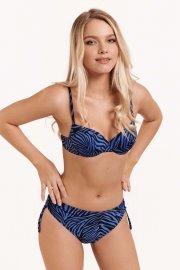 Дълбоки бански бикини с връзки в кафяво или синьо Lisca Fashion Lima 2021 Лиска Fashion SW от www.liscashop.bg