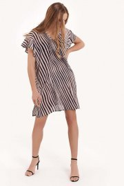 Плажна туника с къси ръкави и V-образно деколте Lisca Fashion Okinawa 2021 Лиска Fashion SW от www.liscashop.bg