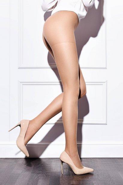 Класически чорапогащник Lisca Basic 20 den, еластичен, лъскав външен вид, копринено гладък