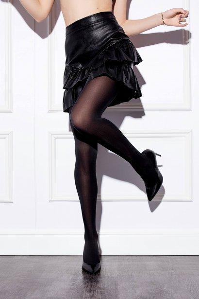 Мек чорапогащник от микрофибър Lisca Basic 60 den, цвят черен