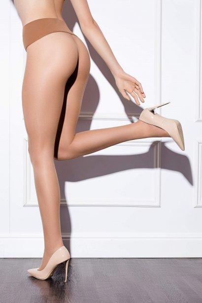 Невидим безшевен чорапогащник Lisca Fashion 15 den, матов и невидим под тесни и прилепнали дрехи